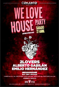 We love House Party @ Sala Rock Star